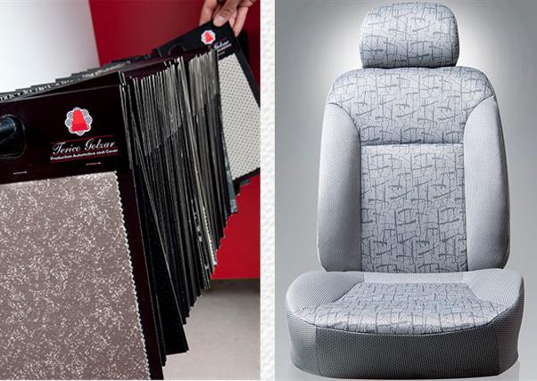 شرکت تریکو گلزارپارچه های صندلی خودرویی